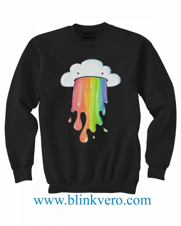 Little Blue Renn More Cute Dumb Drawings Jersey Life Style Girls and Mens Sweatshirt size S to XXXL Unisex Adult