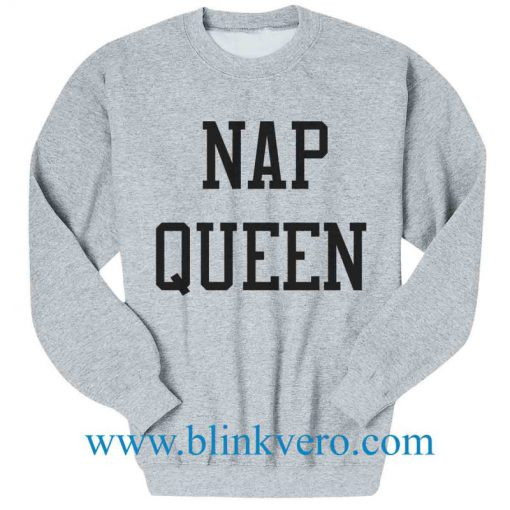 Nap Queen Jersey Life Style Girls and Mens Sweatshirt size S to XXXL Unisex Adult