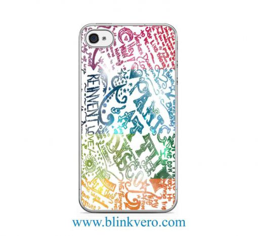 Panic at the Disco quote Protective Case iPhone 6 Case iPhone SE iPhone 5s Case iPhone 5c Case Samsung S6 Case Samsung S5 Case Samsung S6 Case Samsung S7 Case