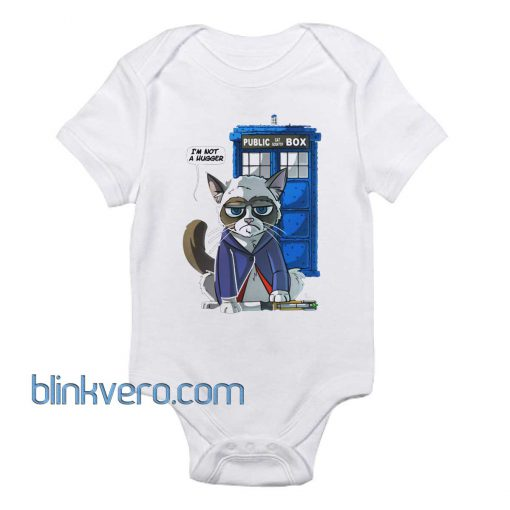 Grumpy Doctor Cat Awesome Funny Baby Onesie Boy or Girl, Available Sizes Newborn to 24 Months