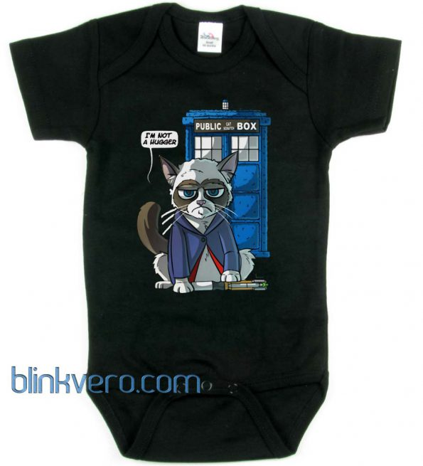 Grumpy Doctor Cat Awesome Funny Baby Onesie Boy or Girl