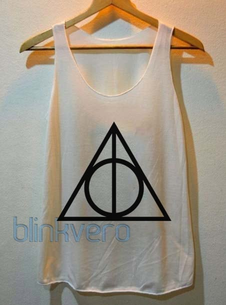 Deathly Hallows Unisex Tank Top Available Size S M L XL XXL XXXL For Men and Women Adult