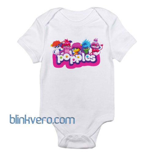 Popple Awesome Funny Baby Onesie Boy or Girl, Available Sizes Newborn to 24 Months