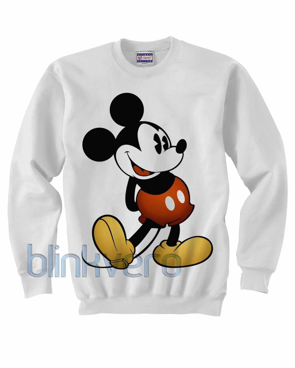 a444fb98d1 mickey mouse sweater hoodie sweatshirt shirt top unisex adult size