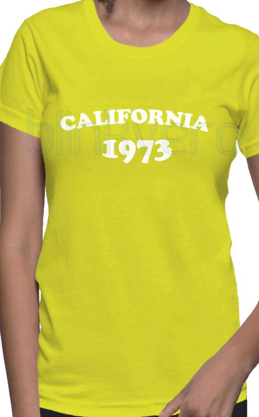California 1973 Tee Awesome Unisex Tshirt Adult Size S M L XL XXL For Men and Women