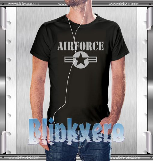 Air Force Army Style Shirts Size S-3XL Unisex Shirts