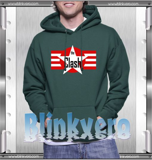 The Clash Style Shirts For Mens Size S-3XL Unisex Hoodie