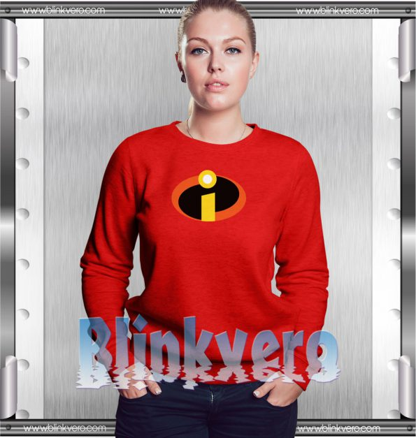 The Incredibles Style Shirts For Womens Size S 3XL Unisex Sweatshirt
