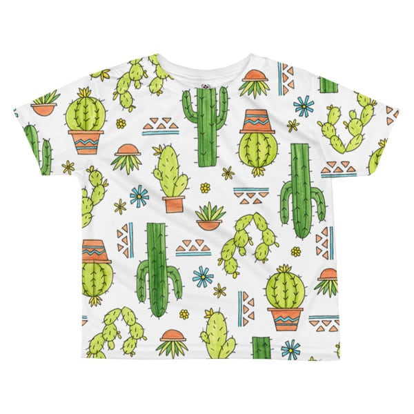 Cactus Style Shirts T shirt All over kids sublimation