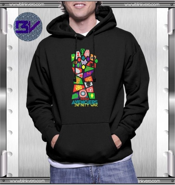 Avengers Infinity War Style Shirts Hoodie For Mens Size S 3XL Unisex