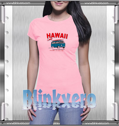 Hawaii Bus Style Shirts For Womens Size S 3XL Unisex Shirts