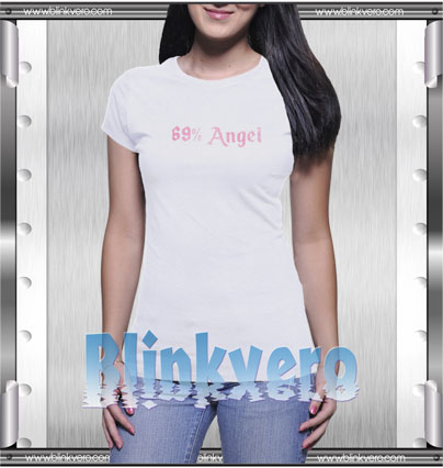 69% Angel Style Shirts T shirt For Womens Size S 3XL Unisex Shirt