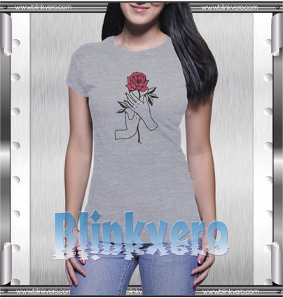 Aesthetic Rose Style Shirts T shirt For Womens Size S 3XL Unisex Shirt