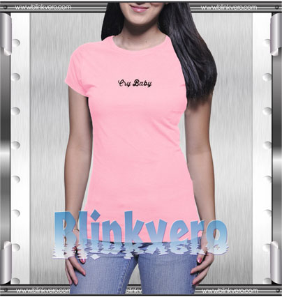 Cry Baby Style Shirt T shirt
