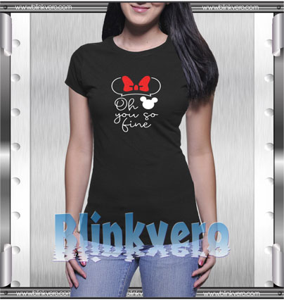 Mickey you're so fine Style Shirt T shirt