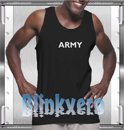 Army Style Shirts Tank Top