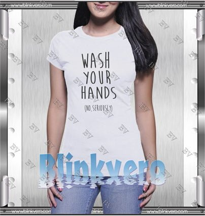 Wash your hands Style Shirt T shirt