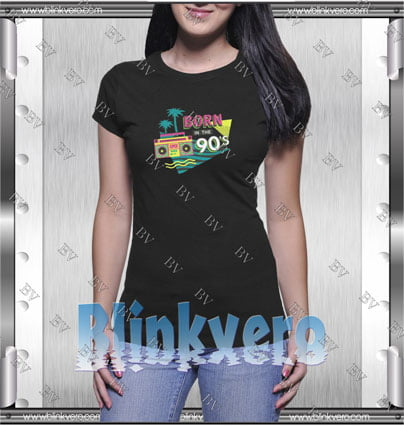 Born In The 90's Style Shirt T shirt