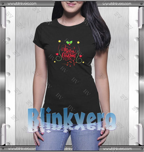Merry Christmas Letter Shirts Style Shirts T shirt