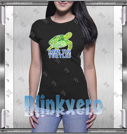 Save The Turtles Style Shirt T shirt