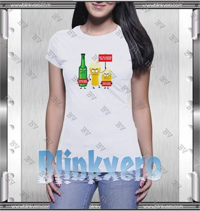 Save waterdrink beer Style Shirt T shirt
