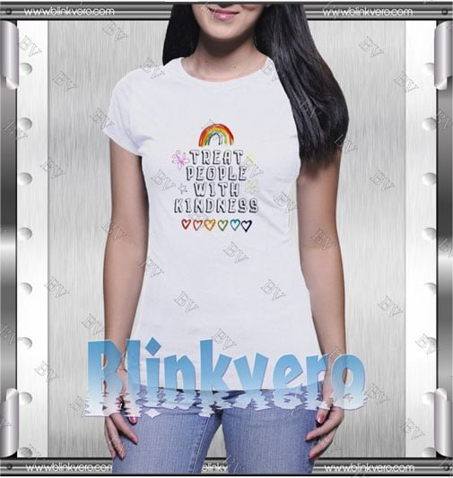 Treat People With Kindness Rainbow Shirts Style Shirts T shirt