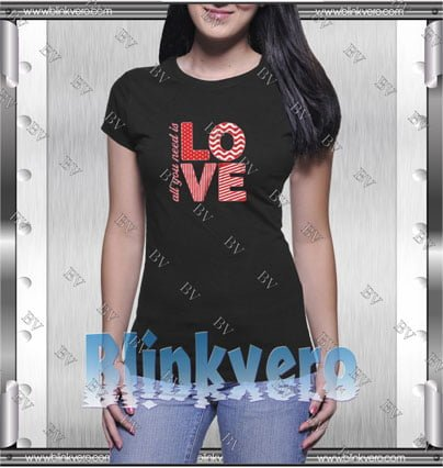 All You Need Is Love Style Shirt T shirt
