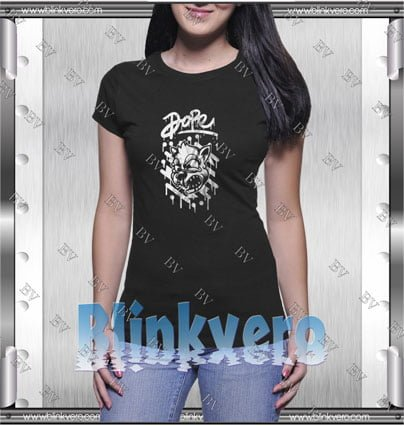 Dope Cat Graphic Style Shirts T shirt For Womens Size S 3XL Unisex Shirt