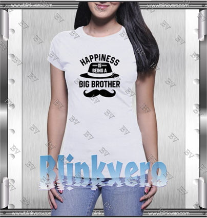 Happiness Is Being A Big Brother Style Shirt T shirt