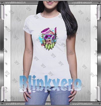Skull Snorkle Style Shirts T shirt For Womens Size S 3XL Unisex Shirt