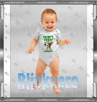 Don't Feed After Midnight Style Shirts Infant Short Sleeve Bodysuit