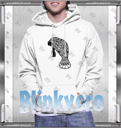 Manatee Count Style Shirts Hoodie