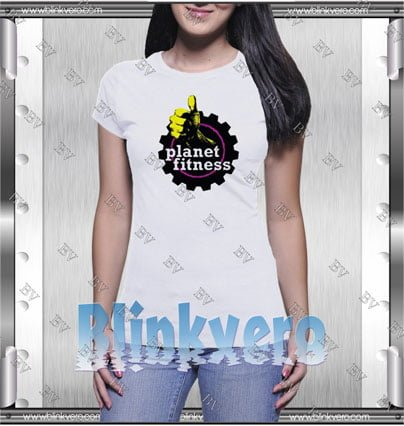 Planet Fitness Style Shirt