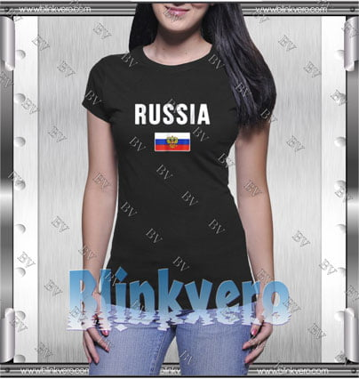 Russian Flag Style Shirts