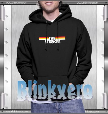 The Strokes Striped Hoodie