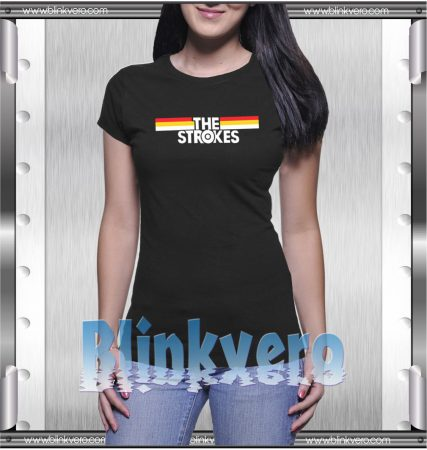 The Strokes Striped T-Shirt