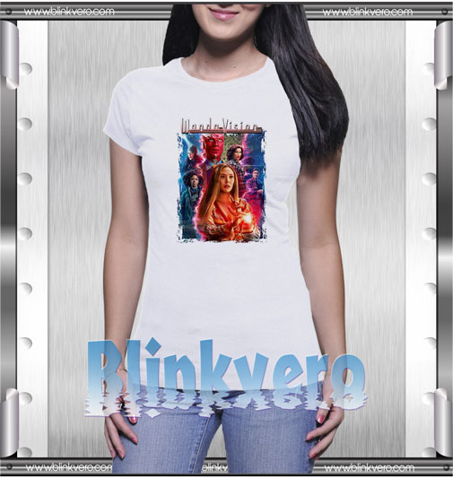 Scarlet Witch and Vision T-Shirt