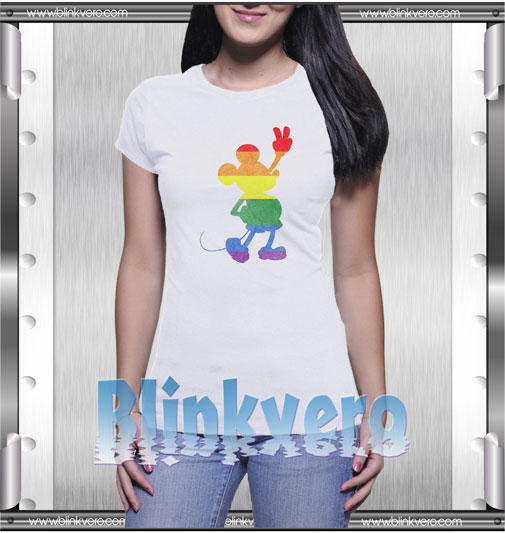 Disney Mickey Mouse Love Is Love Pride T-Shirt