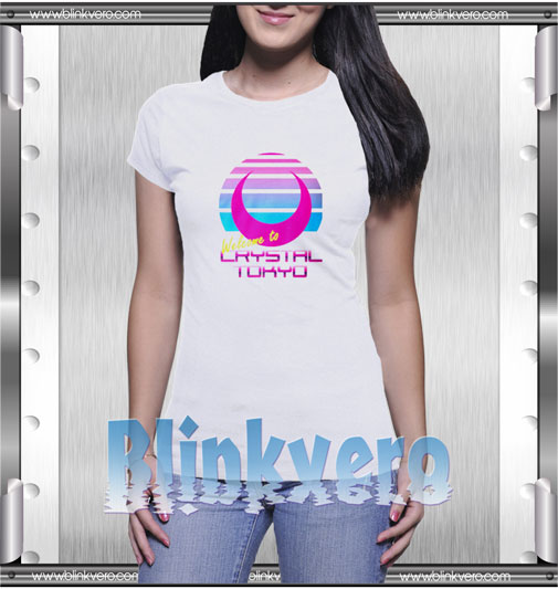 Sailor Moon Welcome to Crystal Tokyo T-Shirt