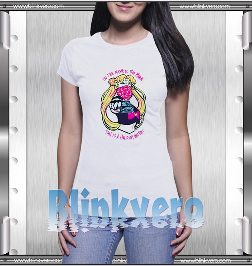 Sailor moon in the name of the moon T-Shirt