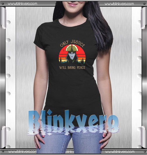 Avatar Kyoshi Only Justice Will Bring Peace T-Shirt