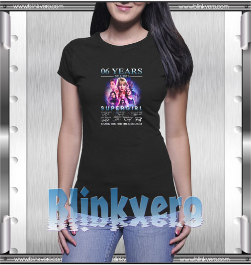 Supergirl thank you for the memories T-Shirt